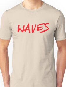 Waves [Red] Unisex T-Shirt