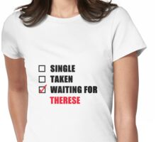 Waiting For Therese Womens Fitted T-Shirt