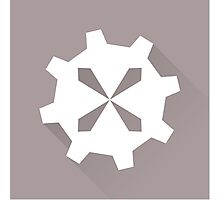 The Silver Cog Photographic Print