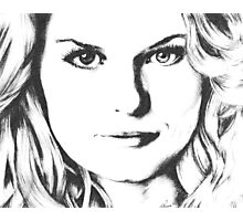 Emma Swan Black and White Photographic Print