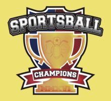 Sportsball Champions Kids Clothes