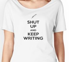 Keep Writing #1 Women's Relaxed Fit T-Shirt