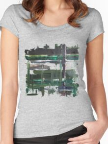 Dreary Day Women's Fitted Scoop T-Shirt
