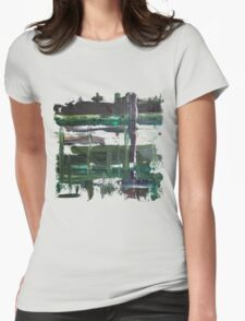 Dreary Day Womens Fitted T-Shirt