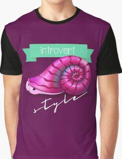Cute snail Graphic T-Shirt
