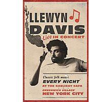 Llewyn Davis Live in Concert Photographic Print