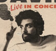Llewyn Davis Live in Concert Sticker
