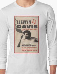 Llewyn Davis Live in Concert Long Sleeve T-Shirt