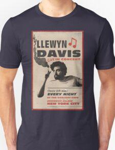 Llewyn Davis Live in Concert T-Shirt