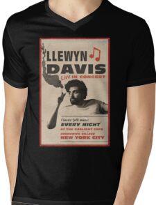 Llewyn Davis Live in Concert Mens V-Neck T-Shirt