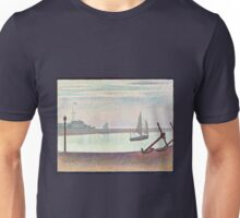Georges Seurat The Channel at Gravelines, Evening Unisex T-Shirt