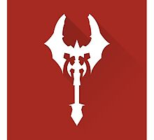 The Red Axe Photographic Print
