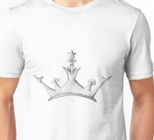 Queen's Crown - Watercolor Queen / Empress / Princess Crown Design Unisex T-Shirt