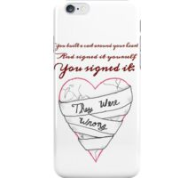 To This Day-Shane Koyczan 2 iPhone Case/Skin