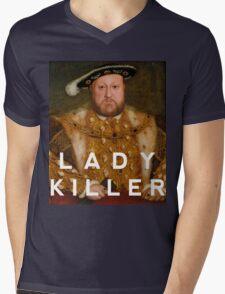 Henry the VIII- Lady Killer Mens V-Neck T-Shirt