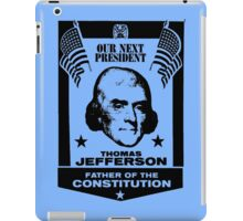 THOMAS JEFFERSON iPad Case/Skin