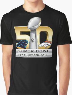 Super Bowl 50 - February 7th, 2016 Graphic T-Shirt
