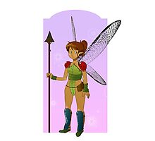 Fighter Fairy Photographic Print