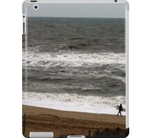 A Guy and His Surfboard iPad Case/Skin