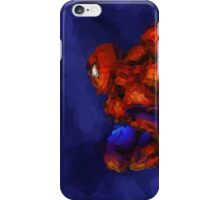 Spiderman Abstract Watercolour Super Hero iPhone Case/Skin