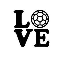 Handball love Photographic Print