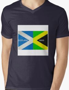 Scotland Yard  Mens V-Neck T-Shirt