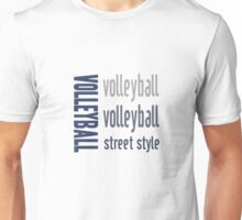 Volleyball Street Style Sports Unisex T-Shirt