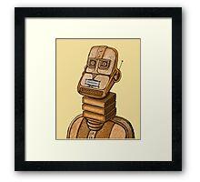 Moderne Robot   Framed Print