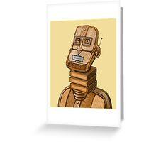 Moderne Robot   Greeting Card