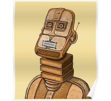 Moderne Robot   Poster