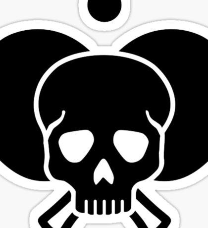 Ping Pong skull Sticker