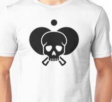 Ping Pong skull Unisex T-Shirt