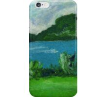 New Zealand Landscpae in Pastel iPhone Case/Skin