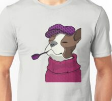 Tough Boston Terrier Girl Unisex T-Shirt