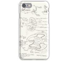Kidney development and glomerulus of the mature nephron iPhone Case/Skin