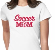 Soccer mom Womens Fitted T-Shirt