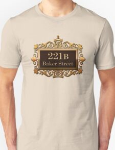 221B Baker St - Sherlock Holmes T-Shirt
