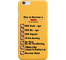 One Punch Man - How to Become a Hero iPhone Case/Skin