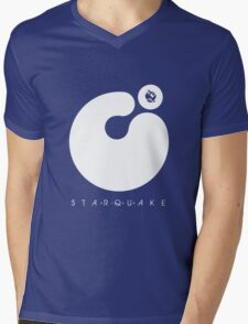 Starquake Mens V-Neck T-Shirt