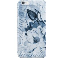 Blue Magnolia iPhone Case/Skin