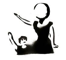Neutral Milk Hotel Stencil Photographic Print
