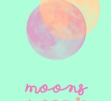 Two moons by MariettaDevi