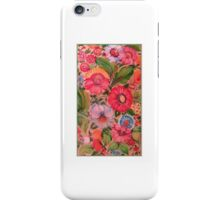 Hot Summer of Love Pink Flower Burst iPhone Case/Skin