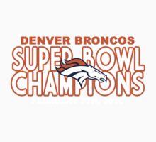Denver Broncos - 2016 Super Bowl 50 Champions Baby Tee