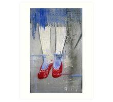 """Ruby Slippers"" Art Print"