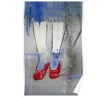"""""""Ruby Slippers"""" Poster"""