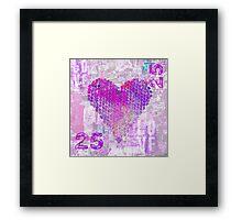 Pink Passion Framed Print