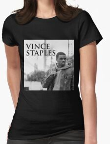 BEST VINCE STAPLES HEADSHOT TOUR Womens Fitted T-Shirt