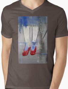 """""""Ruby Slippers"""" Mens V-Neck T-Shirt"""