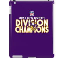 Minnesota Vikings - 2015 NFC North Champions iPad Case/Skin